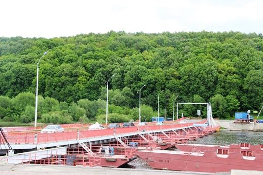Мост через Оку открыт с сегодняшнего дня
