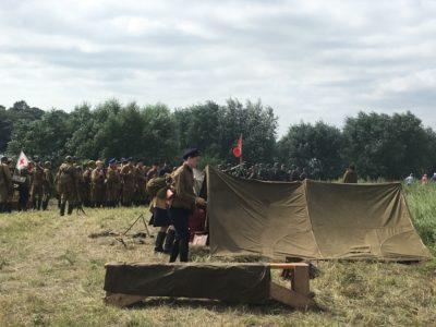 Реконструкция времен ВОВ прошла в селе Белые-Колодези