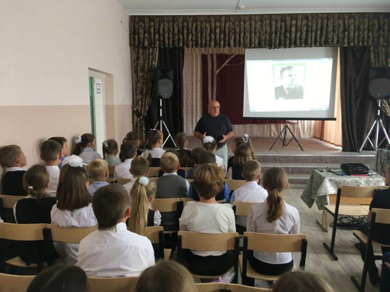 Школьникам рассказали об истории Озёрского спорта