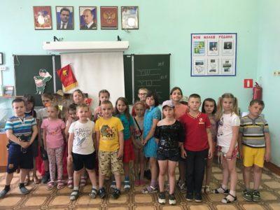 Школьный музей принял первых посетителей!