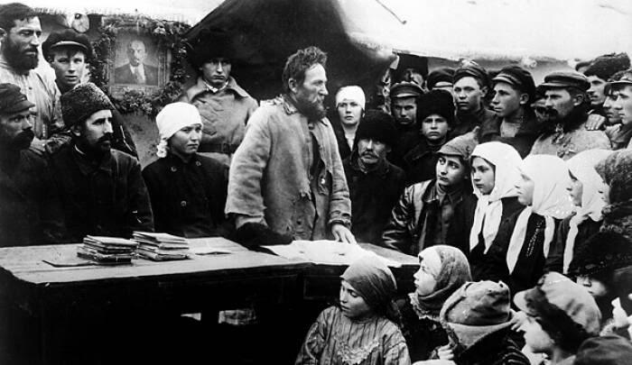Боевой 18-й год. Становление Советской власти в Озёрах