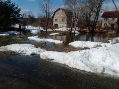 Потоп в Паткино. Весенние проблемы