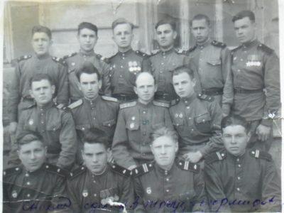 Памяти фронтовика. Михаил Иванович Рогов