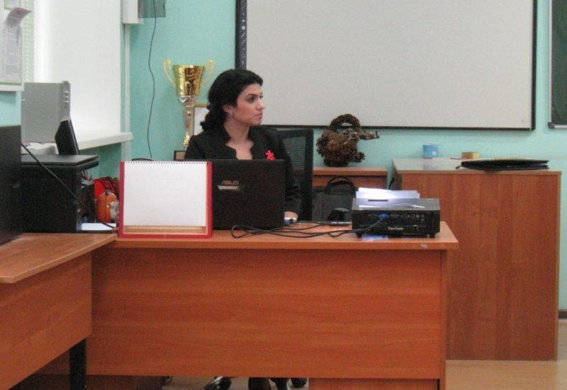 Мария Савина – в Молодёжном парламенте.