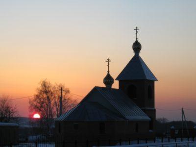 Церковь в селе Комарёво