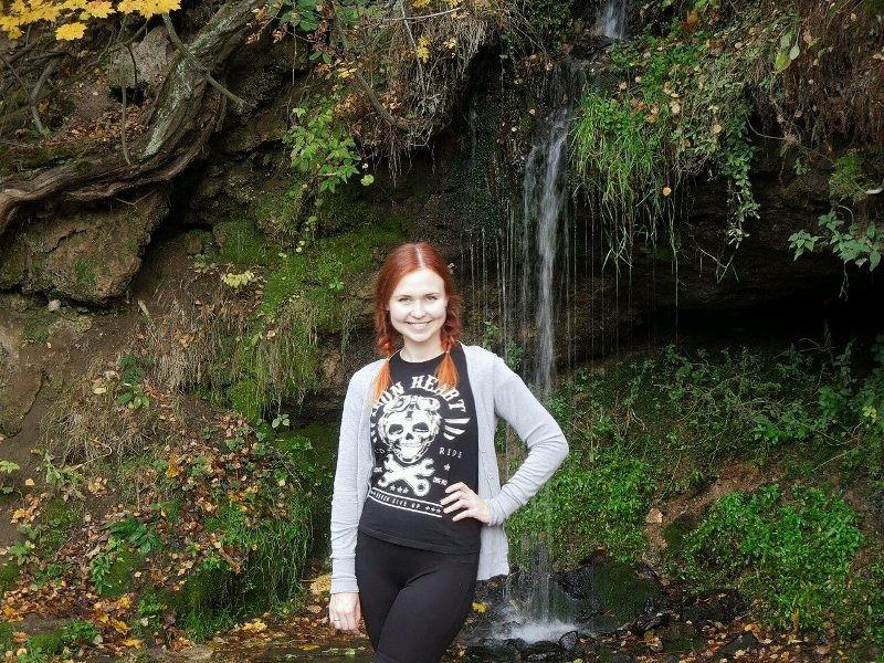 Водопад в Дулебино