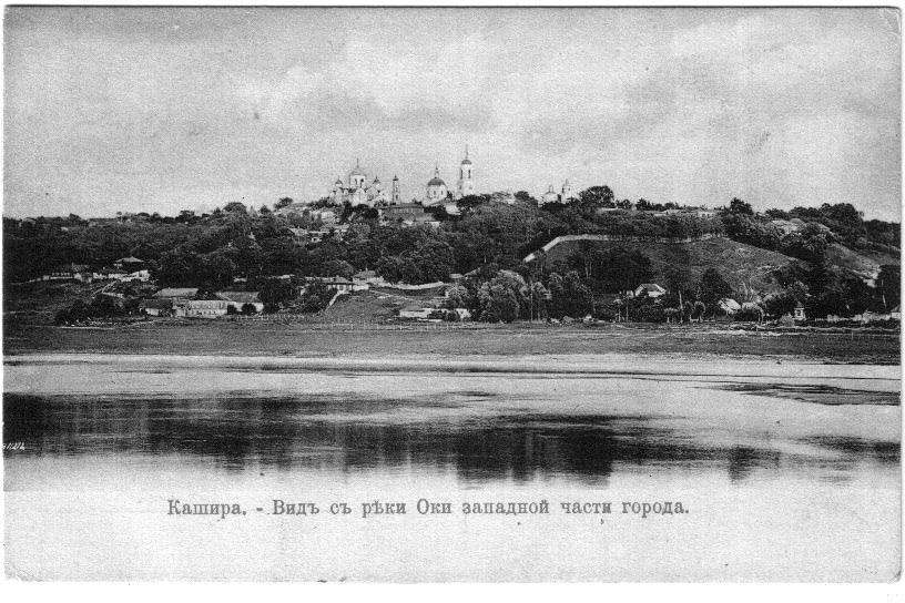 Вид с реки Оки западной части города.