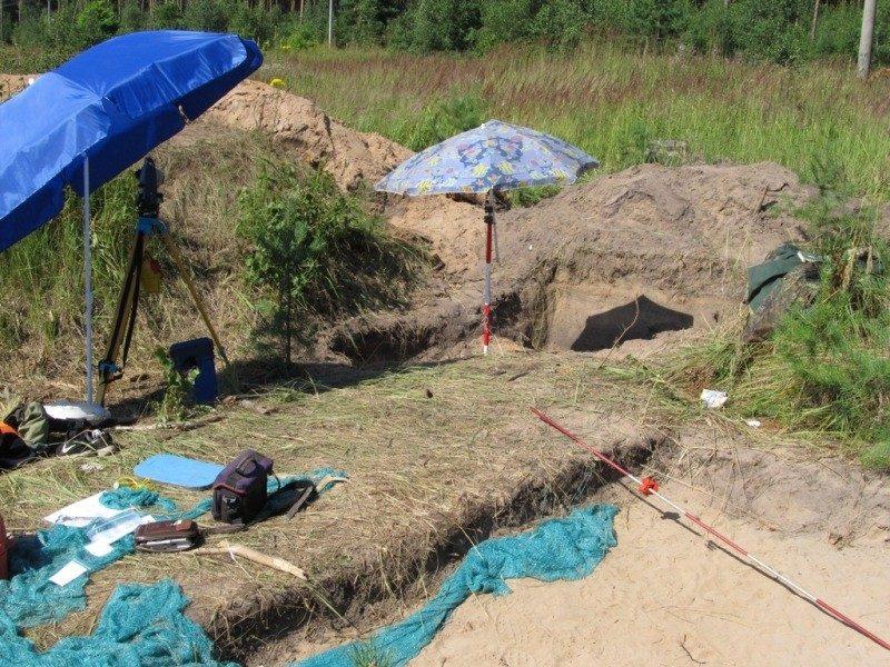 У археологов – горячая пора. Кременье