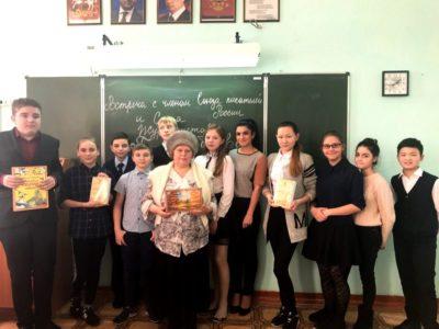 Писательница С.П. Шибанова в Центре «Летопись времён»