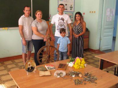 Пополнение фондов Озёрского школьного музея