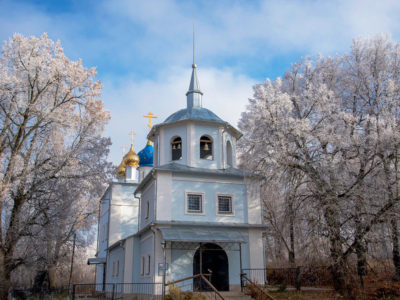 История села  Клишино и Богородице-Рождественской церкви.