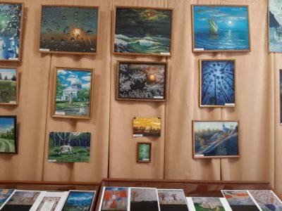 Открытие выставки картин художника Руслана Жураева