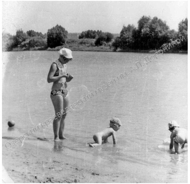 1976 г Озеро Песочное, «детская купальня»