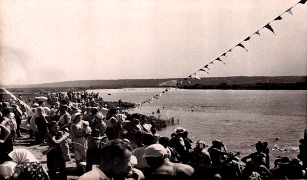 1962 г. Праздник ВМФ на Песочном озере.