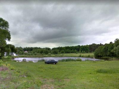 Лагерный пруд