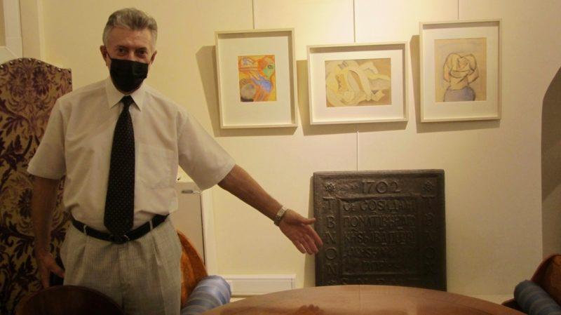В погоне за артефактами, или четвёртая «плита Гагарина»