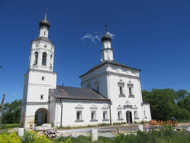 Михайло-Архангельский храм в селе Злобино (Каширский район)