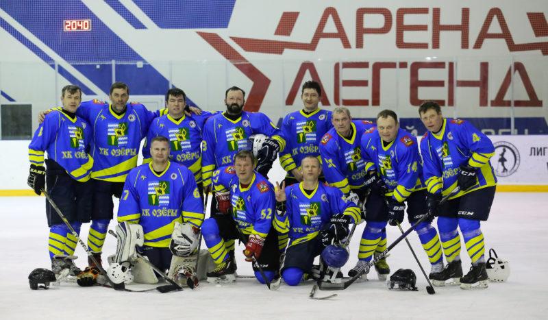 История Озёрского хоккея. Команда «ОЗЁРЫ»