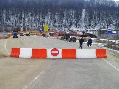 Важная информация! С 16:00 сегодняшнего дня мост будет работать в пешеходном режиме