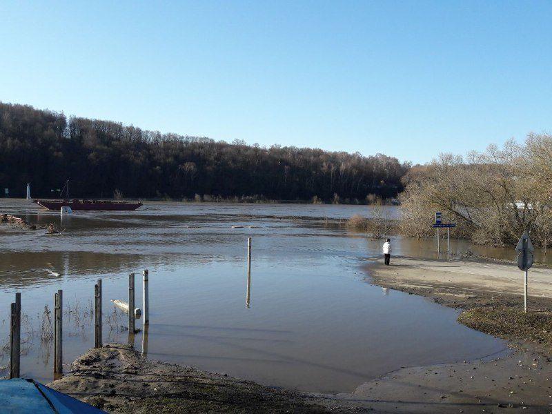 Уровень воды в Оке снизился ещё на 20 см