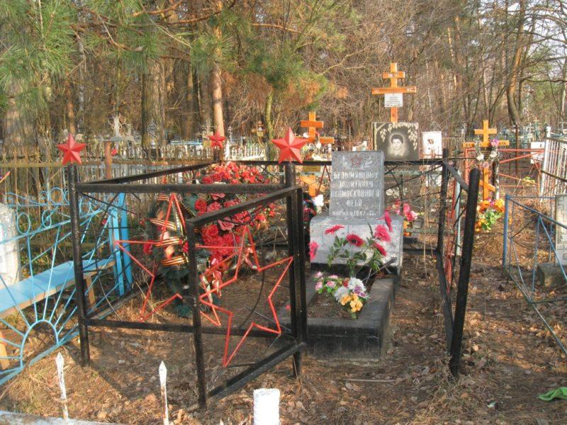 Установлено точное место падения  советского истребителя в окрестностях Комарёва