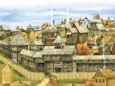 Древнерусский город Колтеск