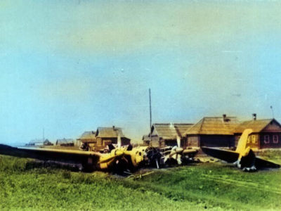 Авиационные происшествия в Озёрском районе 1941-1942