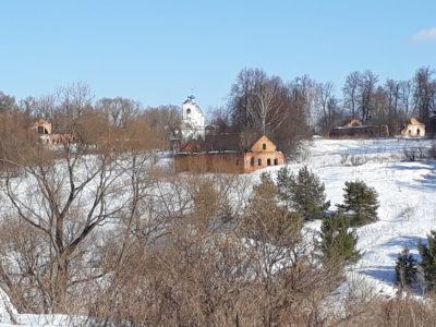 Зимние пейзажи «Графских развалин»