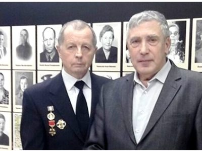 Участники проекта «Дорога памяти» Н.Н. Кочергин и А.А. Кургузов собрали информацию о 255 ветеранах войны из Озёр.