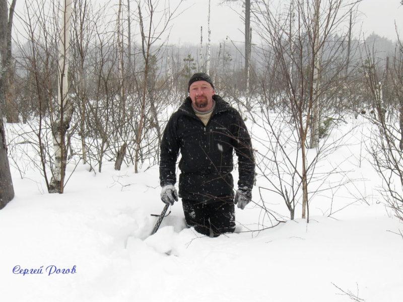 Поход на болото Большие Торфа в честь Дня Советской армии