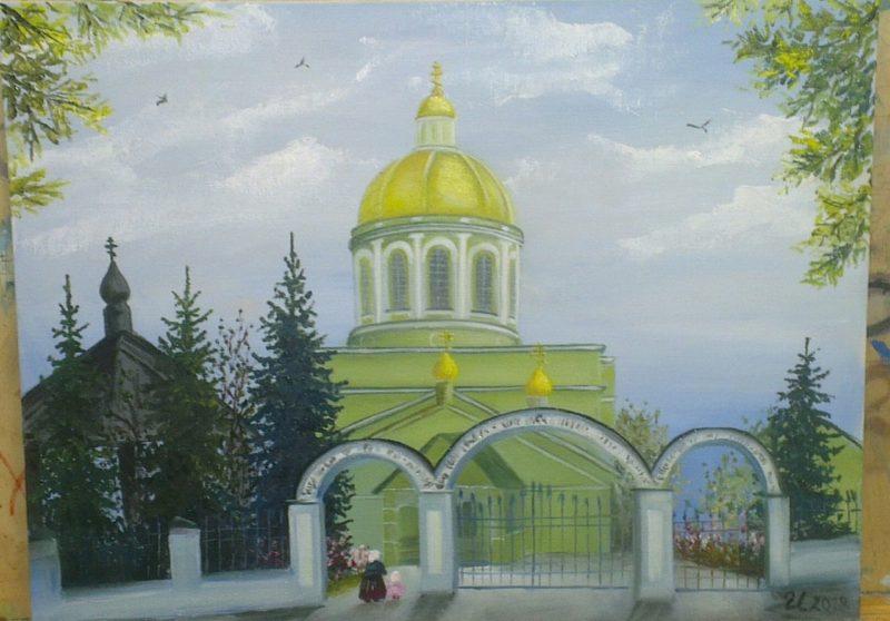 Выставка картин Ирины Кривошеевой в Озёрах