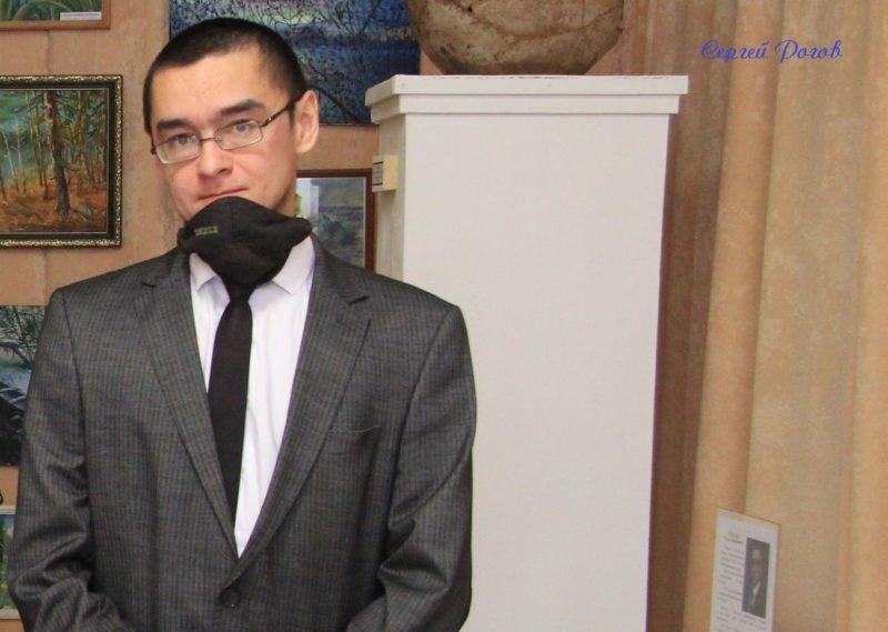 Закрытие выставки картин художника Руслана Жураева